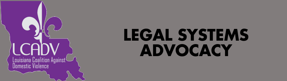 Legal Sysytems Advocacy